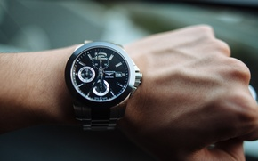 Picture arrows, watch, hand, wrist