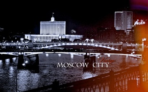 Picture the city, Moscow, promenade, the white house, Kiev railway station, Savvinskaya, government house