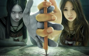Picture spirit, girl, I-Chen Lin, medium
