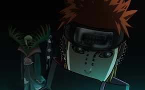 Picture look, piercing, Naruto, Naruto, bandana, Payne, Conan, its atmosphere, Pain, Rinnengan, Secu