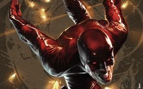 Picture red, Marvel, Daredevil, Daredevil, Matt Murdock, Matt Murdock