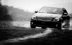 Picture speed, blur, Mercedes