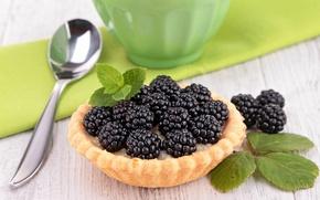 Picture berries, spoon, BlackBerry