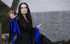 Picture singer, Tarja Turunen, nightwish, girl., The alive