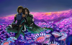 Picture flowers, perfume, art, Avatar, avatar, art, Korra, Times, The Legend of Korra, Avatar: the Legend …