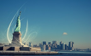Picture Freedom, The Statue Of Liberty, New York, enlightening the world, Statue of Liberty, Liberty Enlightening …