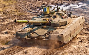 Picture tank, armor, Ukraine, T 84, stronghold
