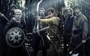 Picture Robin Hood, Gang, Robin Hood