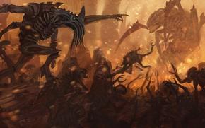 Picture Warhammer 40000, Tyranids, tyranids, Warhammer 40K