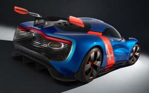 Picture Concept, the concept, Renault, spoiler, Reno, rear view, wing, Alpine, Alpine, A110-50