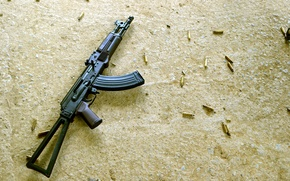 Picture weapons, machine, Kalashnikov, Kalash, AKS74U
