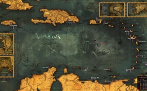 Picture map, TopWare Interactive, Vendetta - Curse of Raven's Cry, Digital Deluxe Edition, Content