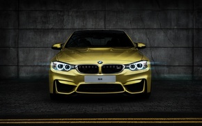 Picture BMW, BMW, yellow, yellow, Coupe, front, F82, Tomirri photography