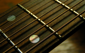 Wallpaper guitar, strings, lad, Grif