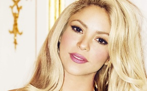 Picture blonde, singer, Shakira, Shakira