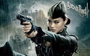Wallpaper gun, Asian, pussy, Sucker, punch
