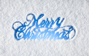 Picture winter, snow, New Year, Christmas, Christmas, winter, snow, Merry