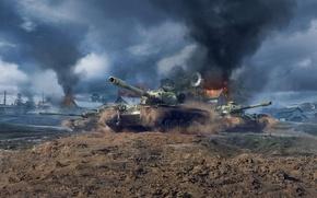 Picture World of Tanks, World Of Tanks, T110E5, Wargaming Net, WoTB, Flash, WoT: Blitz, World of …