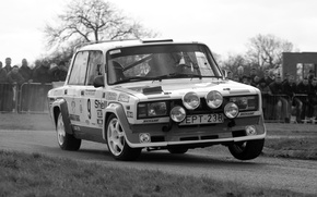 Picture background, Wallpaper, turn, Lada, rally, rally, Lada, 2105, VFTS