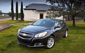 Picture black, Chevrolet, car, Malibu
