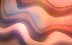 Picture wave, abstraction, background, beautiful, gently