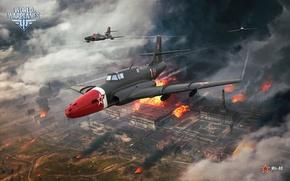 Picture attack, jet, Soviet, World of Warplanes, WoWp, Wargaming, The Il-40