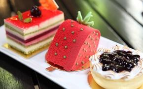 Picture cake, cake, dessert, sweet, sweet, cream, dessert