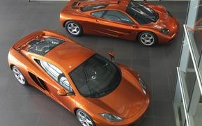 Picture Salon, Orange, McLaren MP4