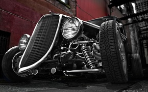 Picture retro, Ford, Ford, classic, 1934, hot rod