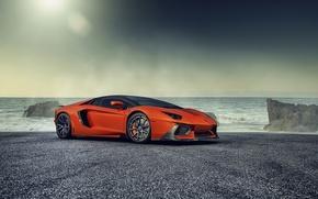 Picture the ocean, tuning, Lamborghini, supercar, Vorsteiner, Lamborghini, Zaragoza, Aventador-V