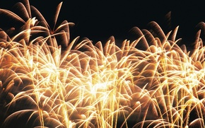 Picture light, squirt, abstraction, background, fire, fireworks