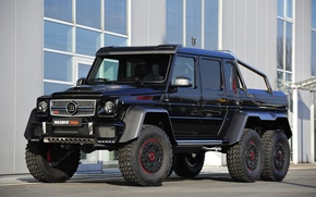 Picture Mercedes-Benz, Brabus, Mercedes, AMG, BRABUS, Gaelic, g, AMG, 2014, 6x6, W463, G 63