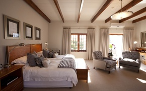 Picture design, style, room, interior, bedroom, hasienda