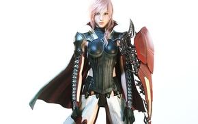 Picture look, girl, Lightning, armor, Final Fantasy XIII, Final Fantasy 13, Lightning, Square Enix, NeoGAF, Lightning …