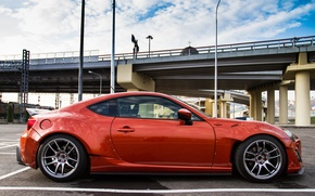 Picture Toyota, side, GT86, Rocket, Bunny