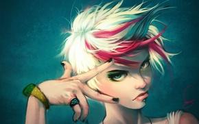 Wallpaper style, look, gesture