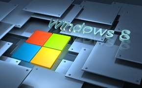 Picture logo, windows, microsoft, logo, windows 8