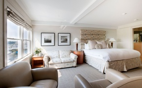 Picture design, house, style, Villa, interior, bedroom, living room