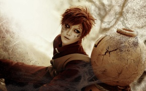 Picture sand, naruto, cosplay, gaara, clamp90357