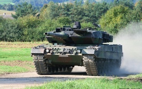 Wallpaper Germany, Germany, army, military equipment, armor, tank, Bundeswehr, Leopard 2А6, The Bundeswehr