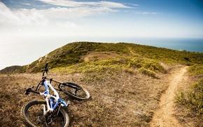 Picture mountains, nature, bike, sport, mountain bike