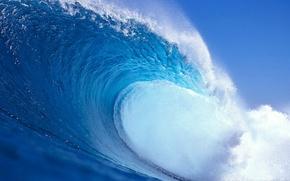 Wallpaper wave, water, nature