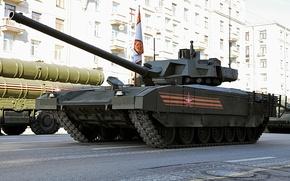 Wallpaper Moscow, Victory Parade, May 9, Armata, T-14, Rehearsal