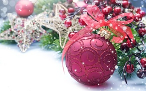 Wallpaper holiday, toys, new year, ball, tape, the scenery, happy new year, christmas decoration, Christmas Wallpaper, ...