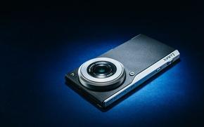 Picture macro, background, camera, Panasonic Lumix CM1