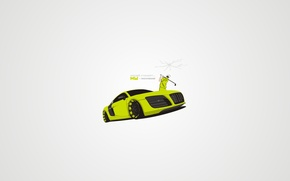 Picture Audi, vector, golf, tuning