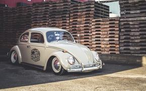Picture Volkswagen, Old, Beetle, Stock