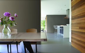 Picture interior, kitchen, dining room, design. house