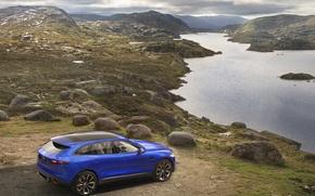 Picture blue, England, Jaguar, concept, the concept, crossover, sports, c-x17