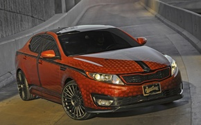 Picture tuning, KIA, tuning, West Coast Customs, Blake Griffin, Optima, SEMA 2011, individual